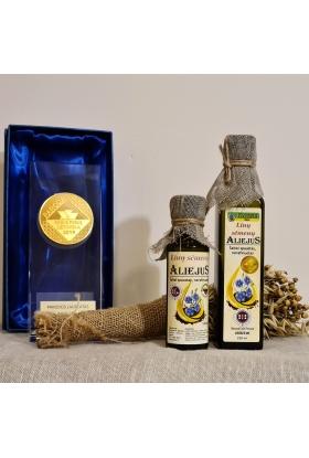 Linų sėmenų aliejus, 250 ml